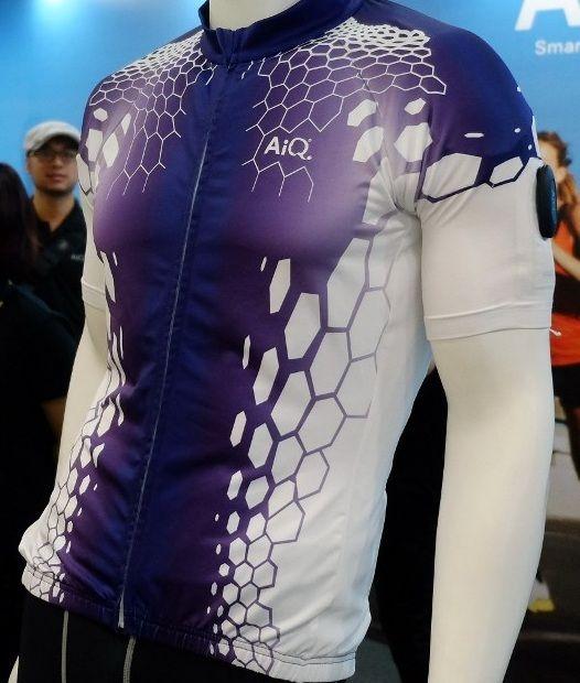 Camisa inteligente de AiQ