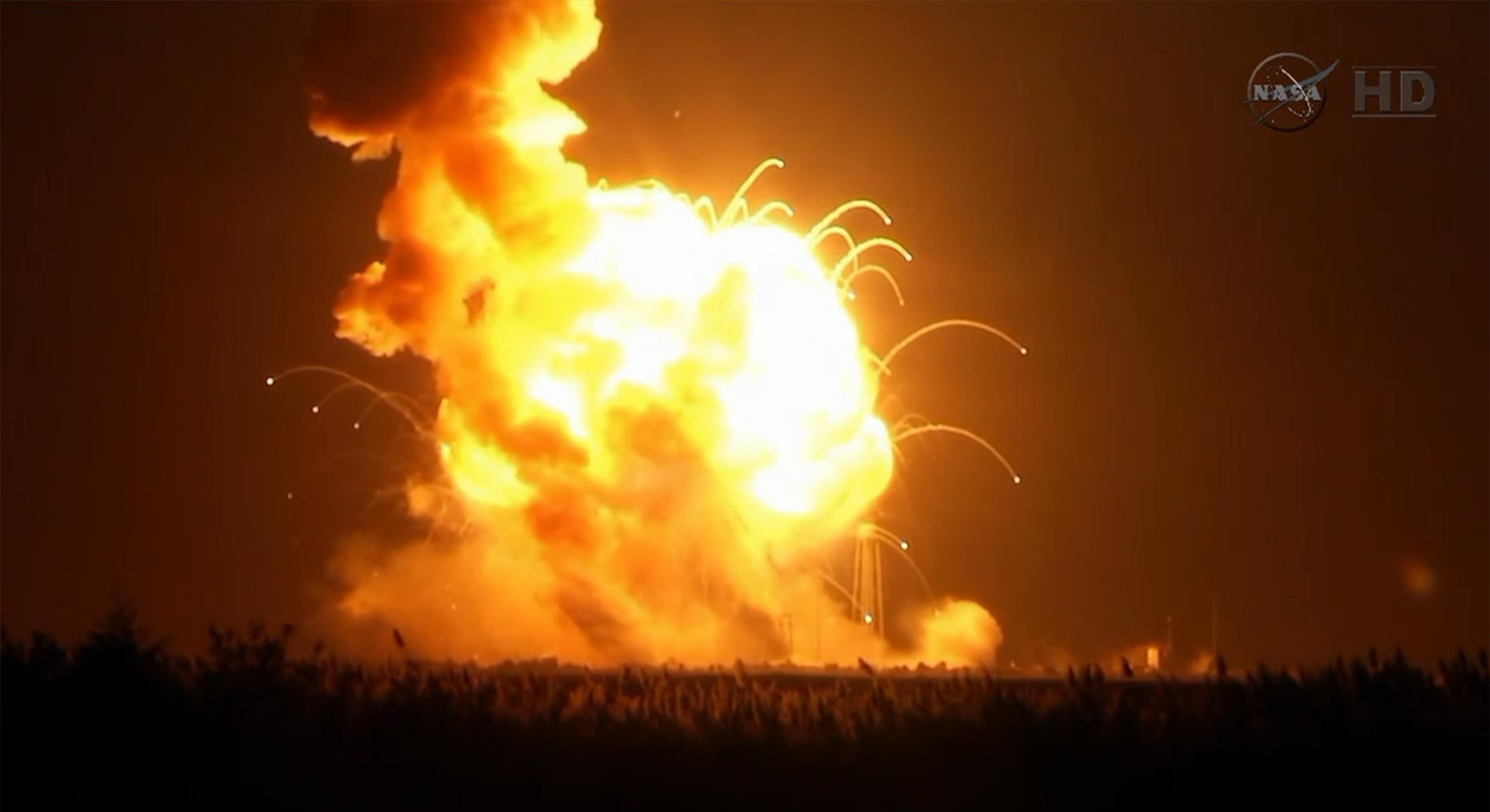 Cohete Antares de la NASA
