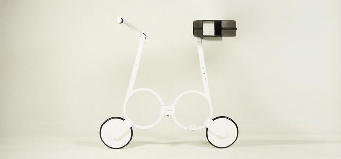 Impossible la bicicleta portátil