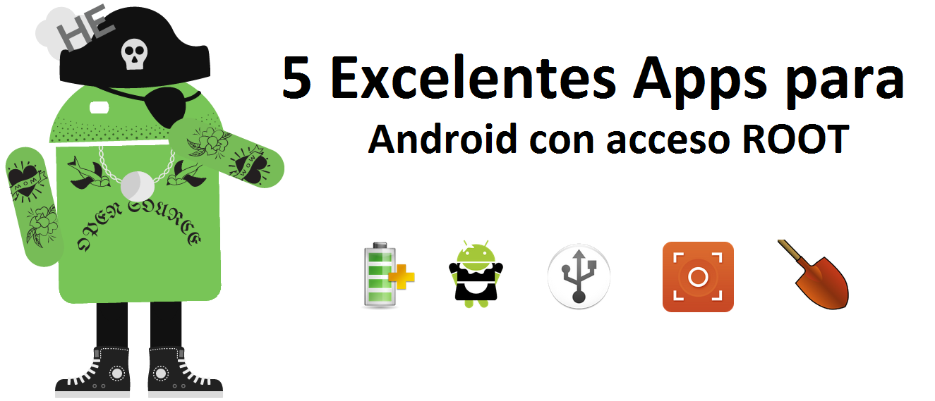 Apps para Android con acceso ROOT