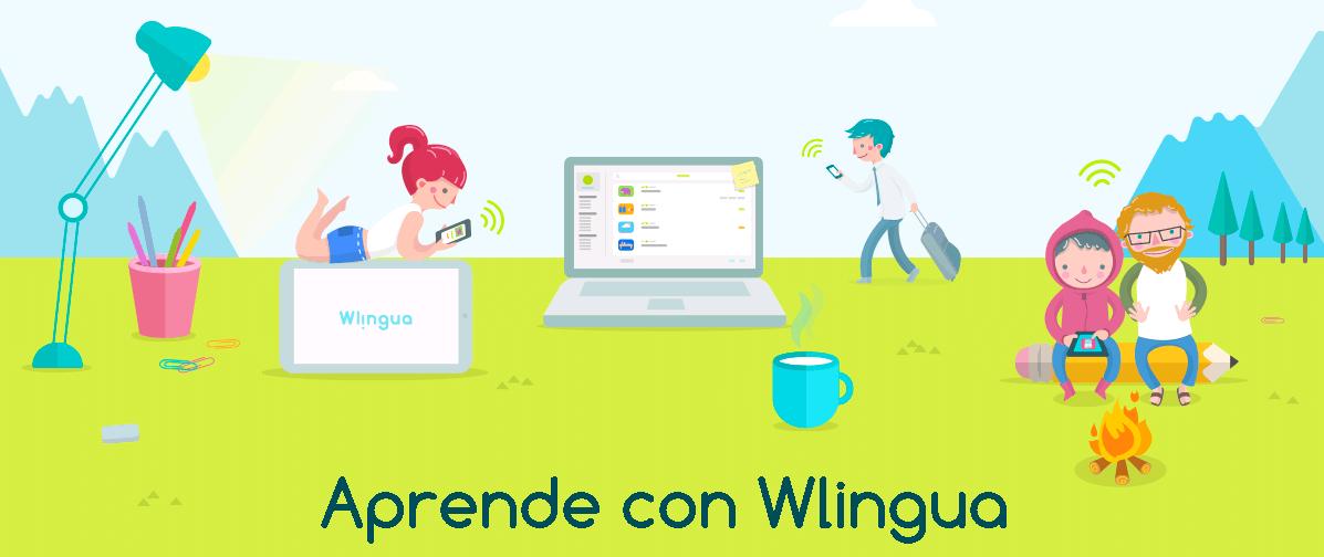 Wlingua Aprende inglés en cualquier lugar y en cualquier momento