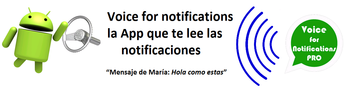 voice for notifications