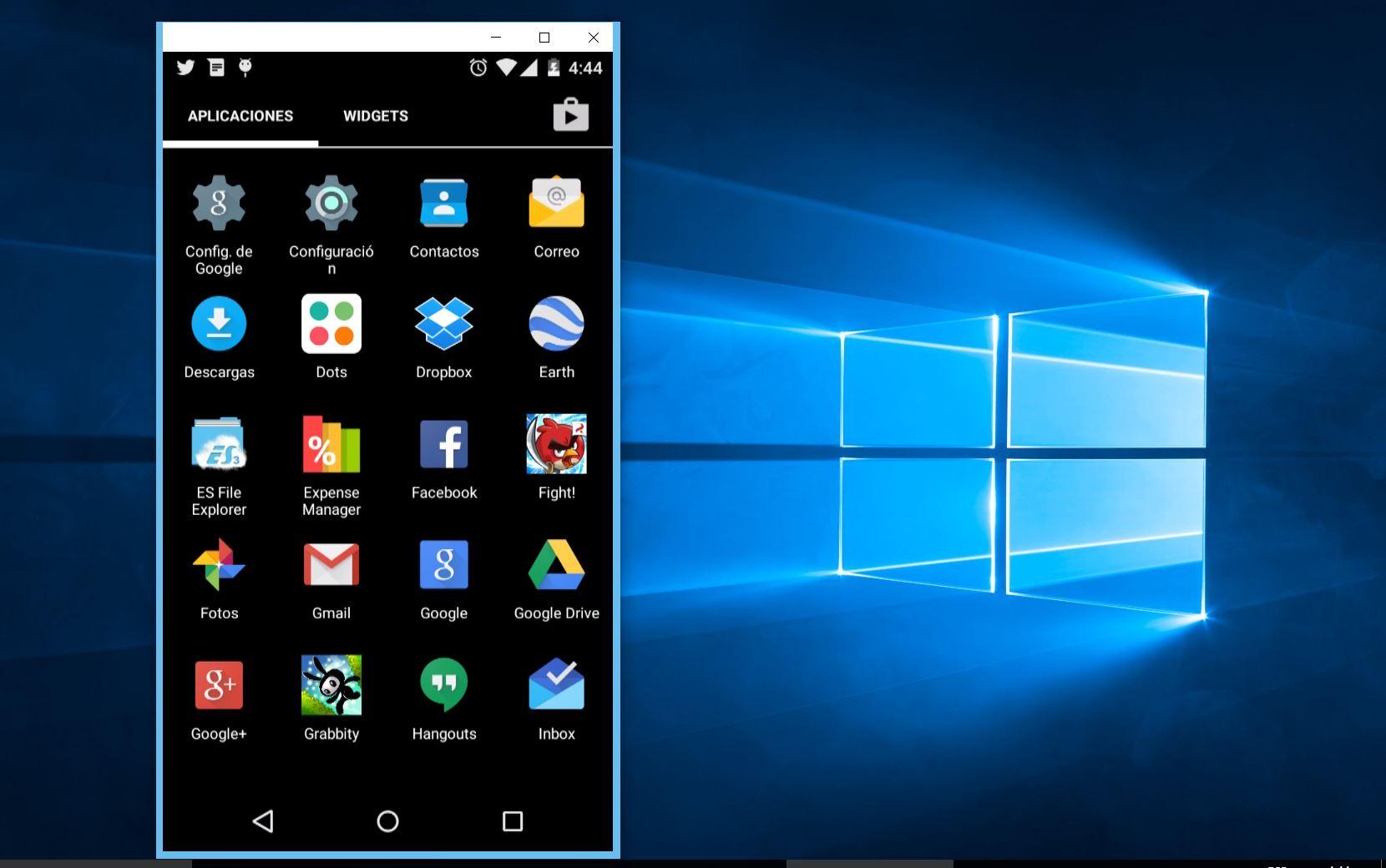 Vysor es una extensión para Chrome que te permite controlar tu Android desde el PC