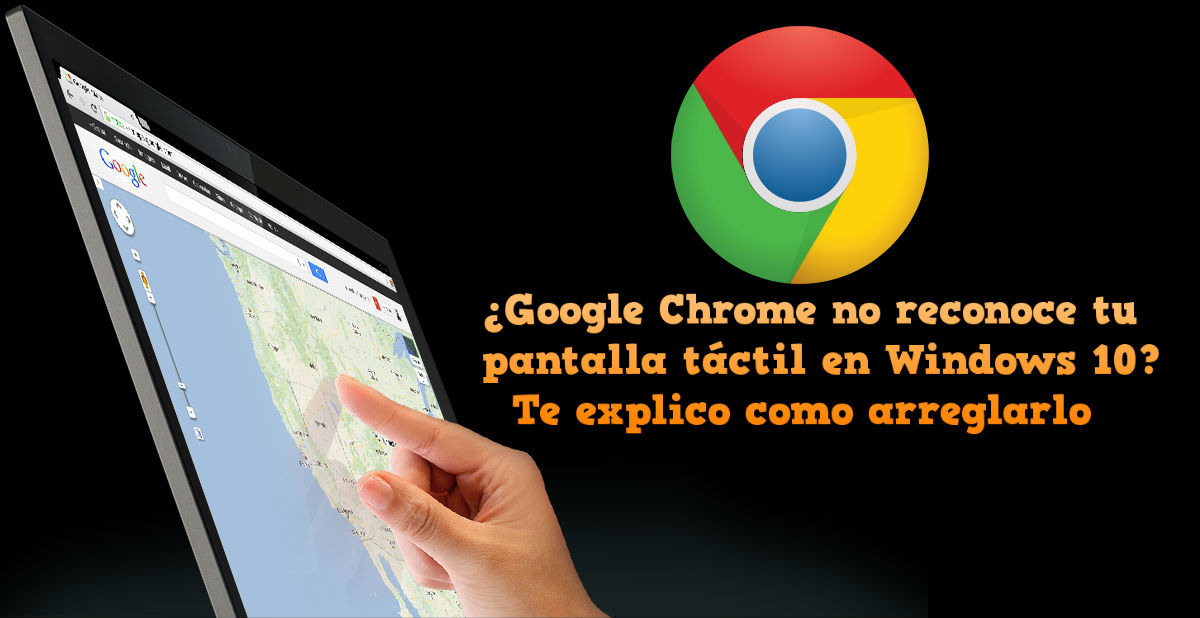Google chrome touch windows 10