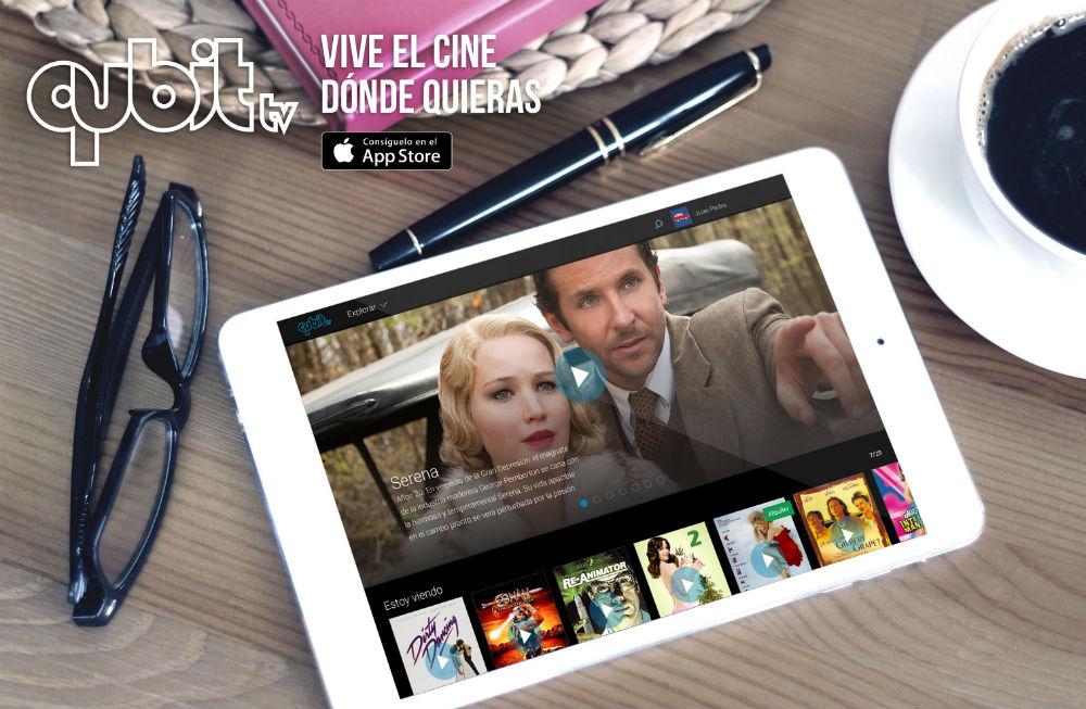 QUBIT.TV llega a Colombia con si servicio de video on demand