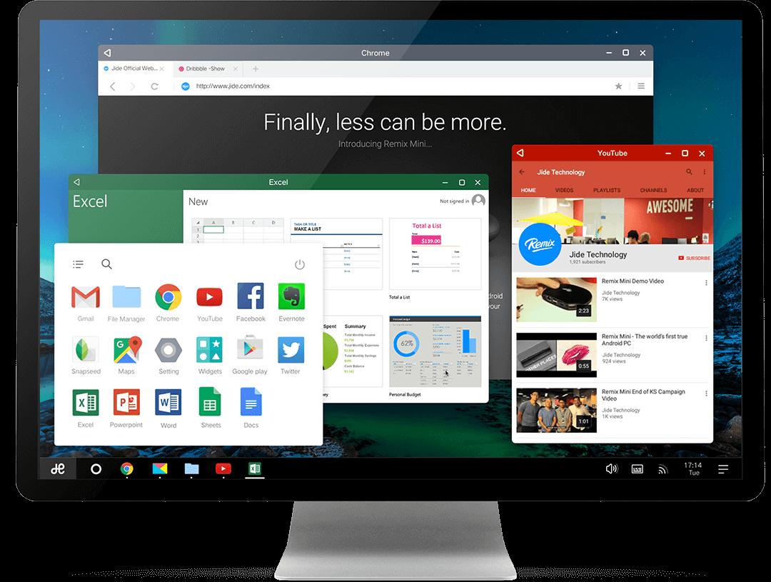 Remix OS llevará un fork de Android multitarea y con ventanas a nuestros PC de escritorio este 12 de enero