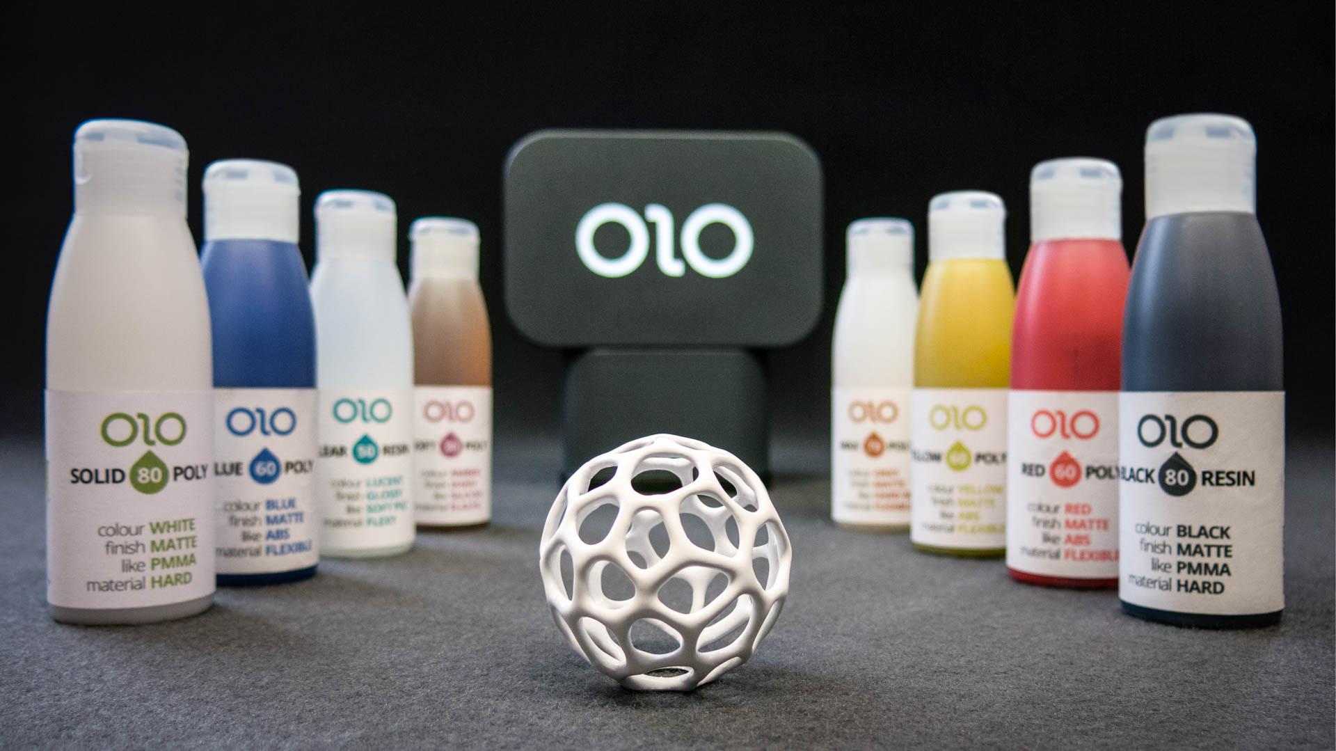 OLO es la primera impresora 3D portátil que funciona con la pantalla de tu celular