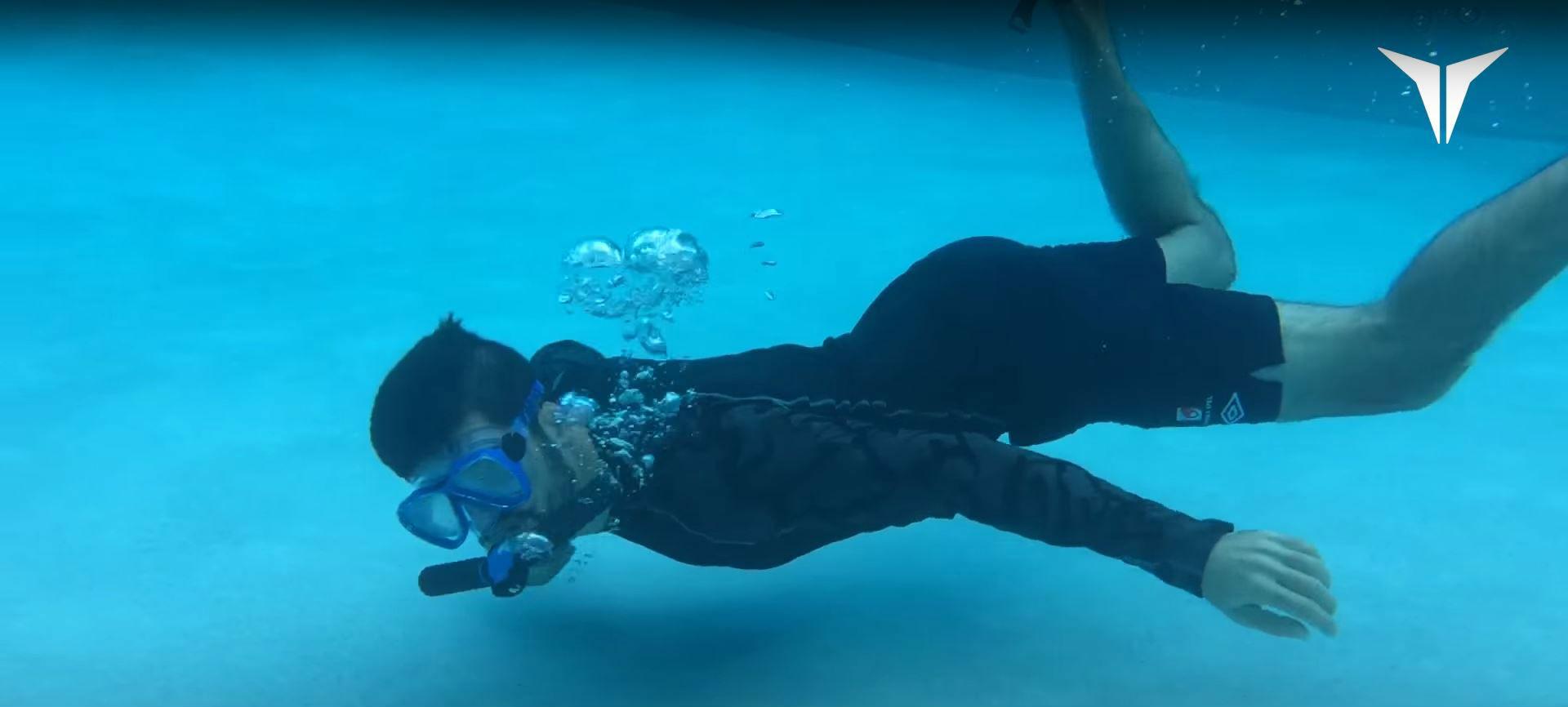 El sueño de respirar bajo el agua de la ciencia ficción se hace realidad con TRITON