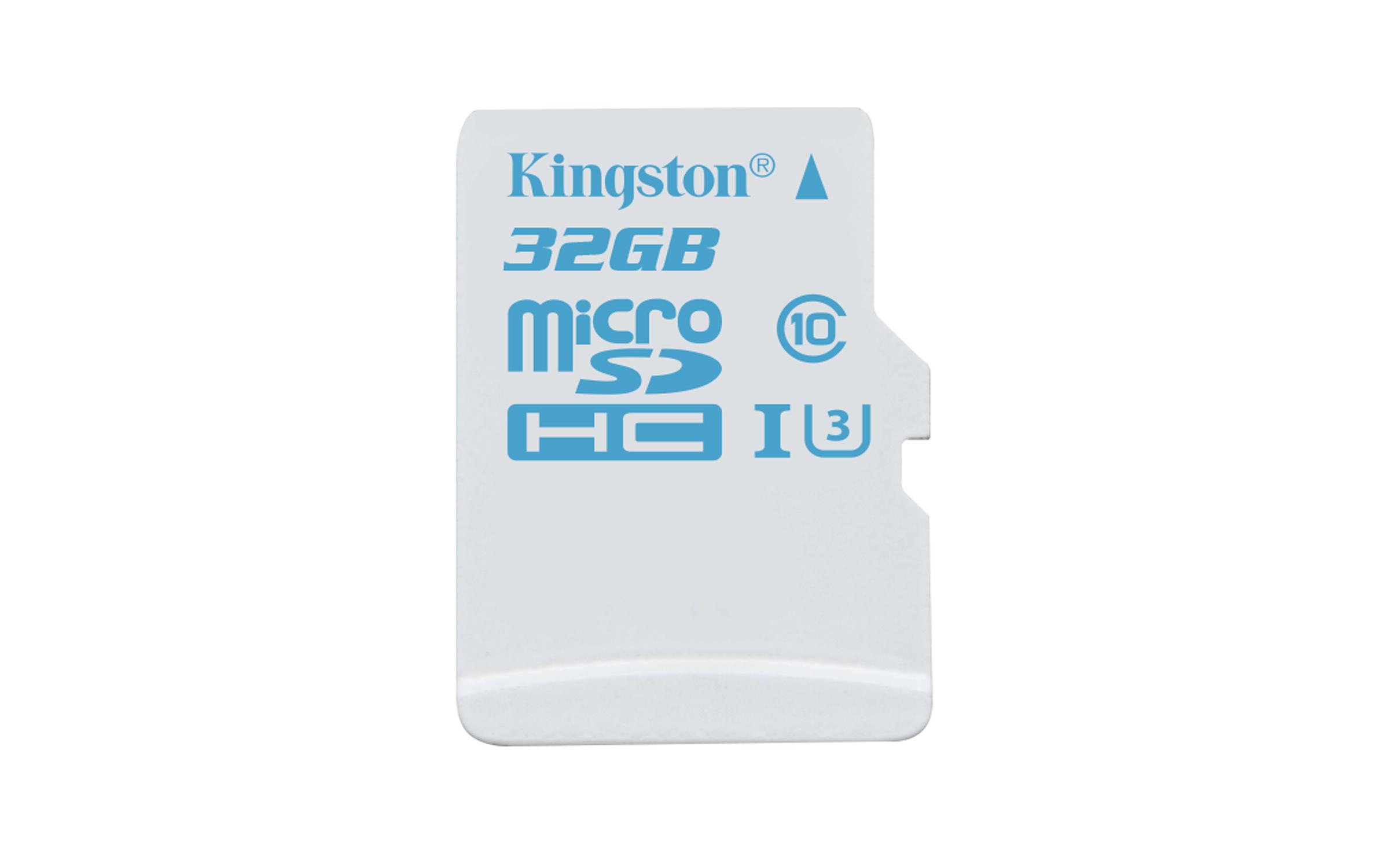 microSD para cámaras de acción