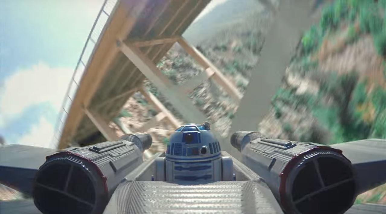 Drone Star Wars un espectacular cortometraje creado por fanáticos