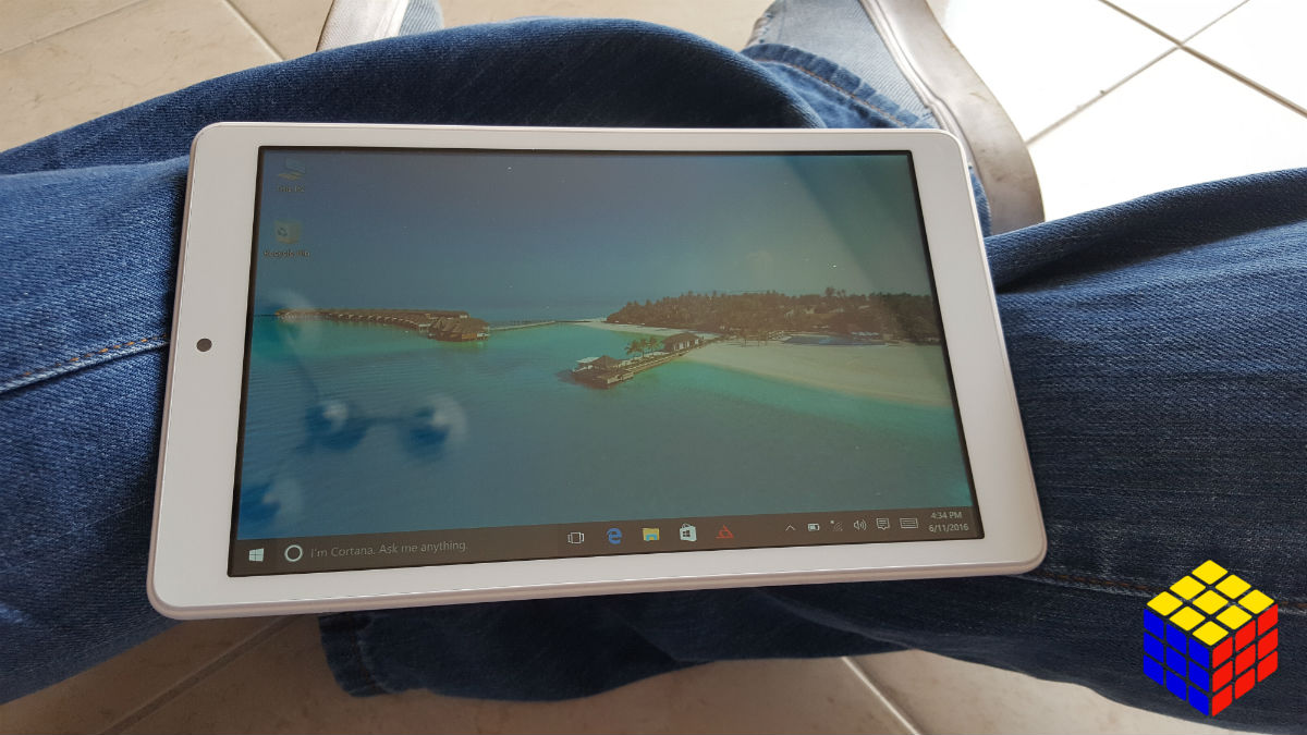 Teclast X80 Pro una pequeña Tablet con Windows 10 y Android Lollipop en su interior