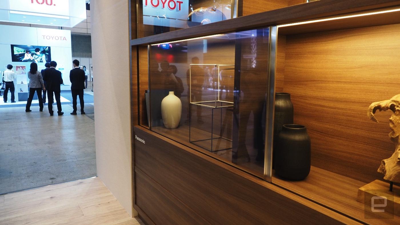 Panasonic presenta el prototipo de su televisor transparente