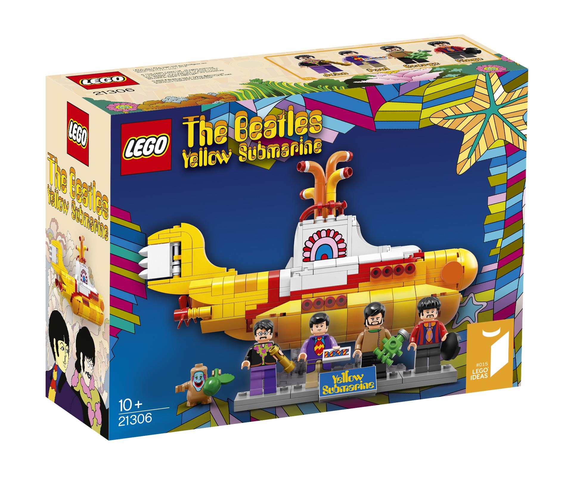 El set de LEGO de Yellow Submarine de The Beatles es la combinación perfecta de nostalgia y diversión