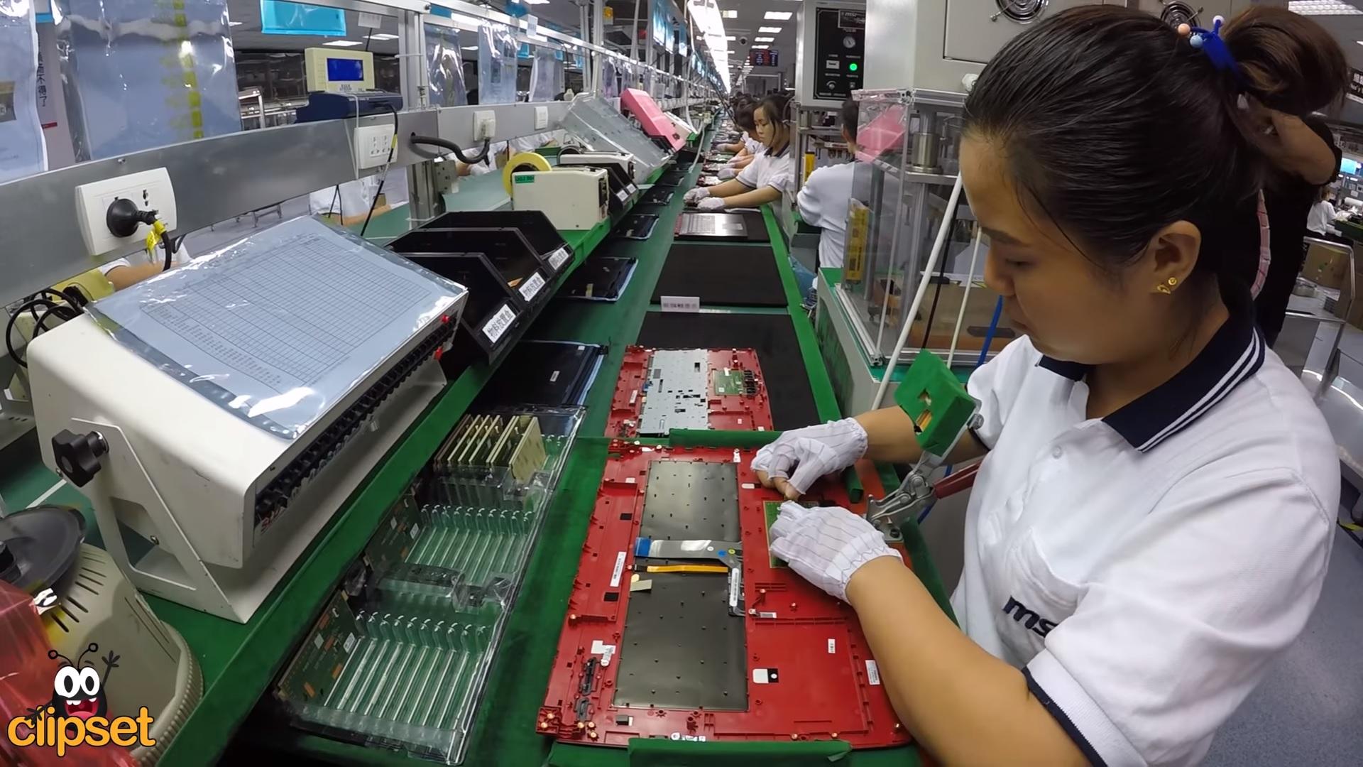 Así es como se elabora una laptop de inicio a fin en la fábrica de MSI