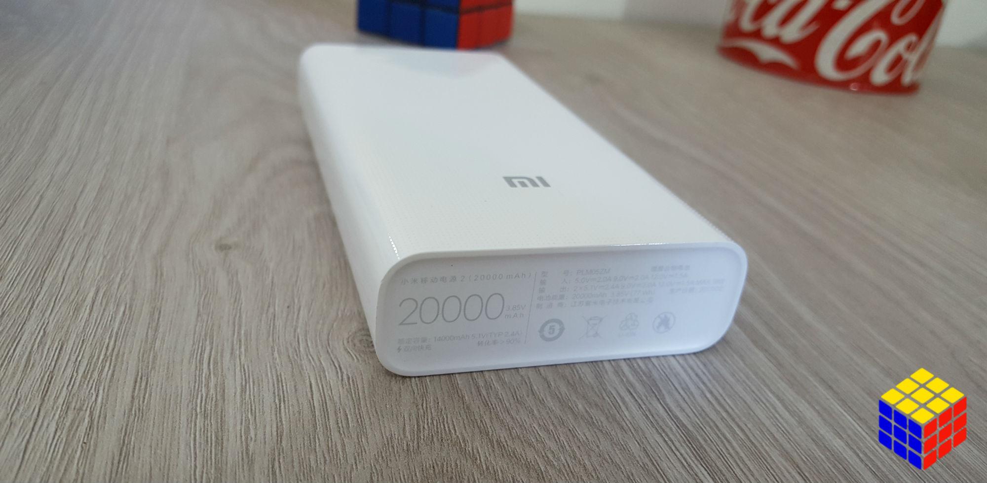 Con el Xiaomi Mi Power Bank 2 de 20.000mAh puedes olvidarte del cargador por una semana